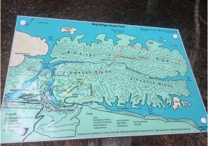 Norris Lake Map Tennessee Map Big Ridge State Park Tn Picture Of Big Ridge State Park