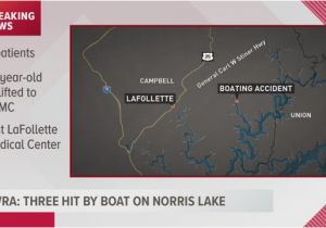 Norris Lake Map Tennessee Three Kids Hit by Boat On norris Lake Wbir Com