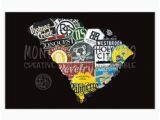 North Carolina Brewery Map 16 Best Craft Beer Maps Images Craft Beer Home Brewing Blue Prints
