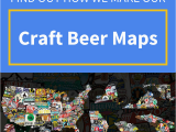 North Carolina Brewery Map How We Make Our 3d Craft Beer Maps Montford Misfits