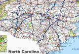 North Carolina Coastal Cities Map north Carolina Road Map