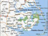 North Carolina Coastal Map with Cities north Carolina East Coast Map Bnhspine Com