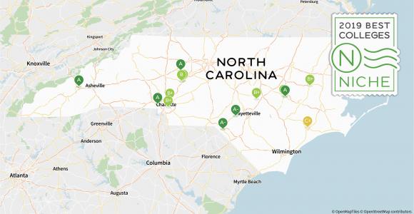 North Carolina College Map 2019 Best Colleges In north Carolina Niche
