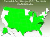 North Carolina Concealed Carry Reciprocity Map Ccw Reciprocity Map Ny County Map
