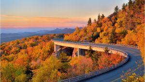North Carolina Fall Foliage Map Fall Foliage Peak Periods In the southeast