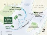 North Carolina Ferry System Map Directions Statue Of Liberty National Monument U S National Park