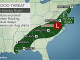 North Carolina Flood Maps Heavy Rain to Raise Flood Concerns In southern Us Early This Week