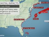 North Carolina Flood Maps Weather Map Of Us today Maria Brushes north Carolina with Gusty