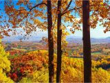 North Carolina Foliage Map Fall Foliage Peak Periods In the southeast