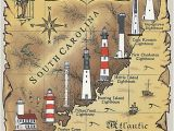 North Carolina Lighthouses Map Lighthouses In south Carolina Google Search I Never Knew We Had