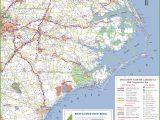 North Carolina Map with towns north Carolina State Maps Usa Maps Of north Carolina Nc
