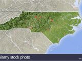 North Carolina Relief Map north Carolina State Map Stock Photos north Carolina State Map