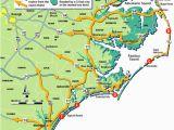 North Carolina S Crystal Coast Map north Carolina East Coast Map Bnhspine Com
