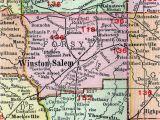 North Carolina School Districts Map Davidson County Nc School District Map Elegant Winston Salem north
