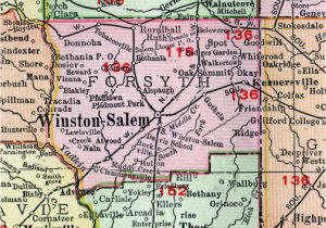 North Carolina School Districts Map Davidson County Nc School