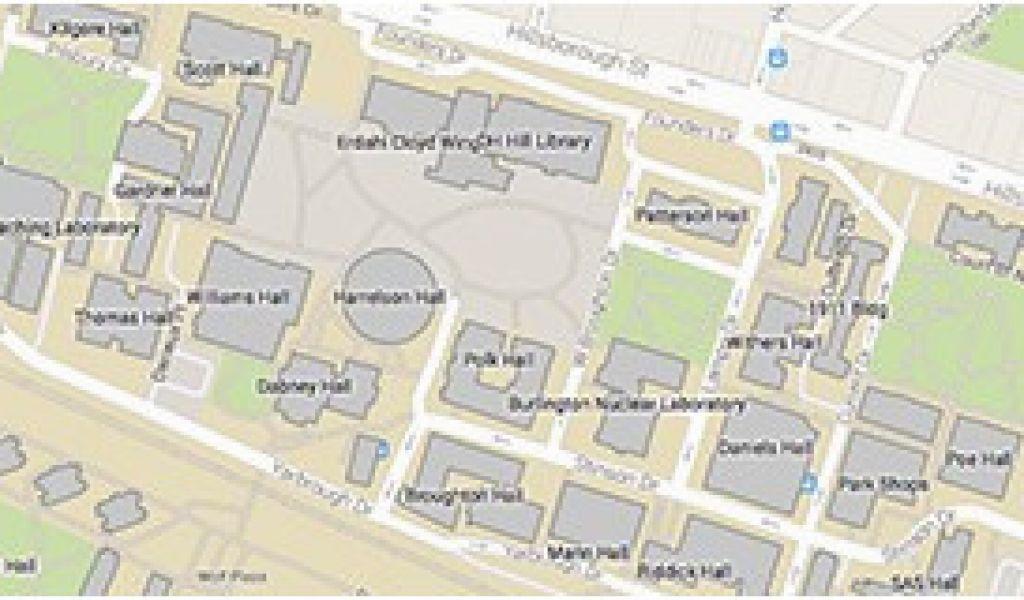 North Carolina State Campus Map Nc State University Secretmuseum