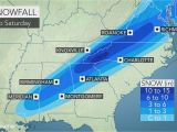 North Carolina Temperature Map Snowstorm Cold Rain and Severe Weather Threaten southeastern Us