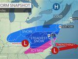 North Carolina Temperature Map Weekend Storm to Unleash Snow Ice From north Carolina to Virginia