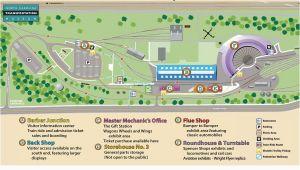 North Carolina Transportation Map Nc Transportation Museum Map Of the Museum