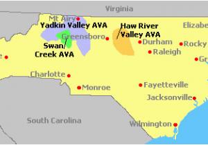 North Carolina Wineries Map north Carolina Wine Regions Drinks Wine Cellar Crafts