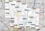 Northeast Ohio County Map Hamilton County Ohio Zip Code Map Secretmuseum