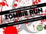 Northeast Texas Trail Map Greater Blossom Development association Zombie Run 5k 1 Mile Fun