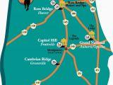 Northeast Texas Trail Map the Robert Trent Jones Golf Trail Alabama