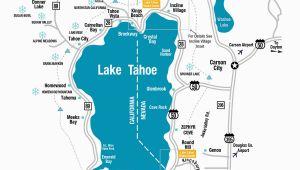 Northern California Casinos Map Lake Tahoe Maps and Reno Maps Labeled Map Lake Tahoe California