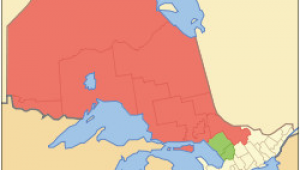 Northern Ontario Map Canada northern Ontario Wikipedia