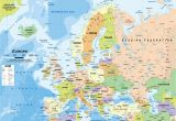 Norway On Europe Map Map Of Europe Wallpaper 56 Images