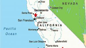 Oakland California Google Maps Map California Google Map California Cities California Map Map Of