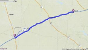 Odessa Texas On Map Driving Directions From Odessa Texas to Odessa Texas Mapquest