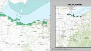 Ohio 9th Congressional District Map Michigan S Congressional Districts Revolvy