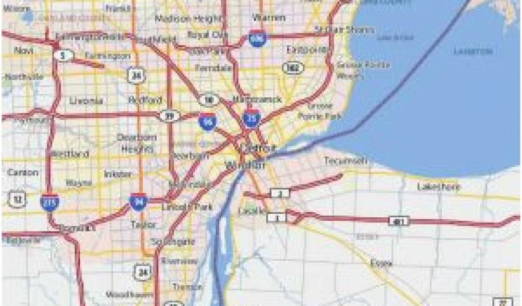 Ohio Airports Map Cleveland Ohio Airport Map Cleveland Airport Map on