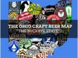 Ohio Breweries Map 16 Best Craft Beer Maps Images Craft Beer Home Brewing Blue Prints