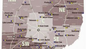 Ohio Campgrounds Map List Of Ohio State Parks with Campgrounds Dreaming Of A Pink