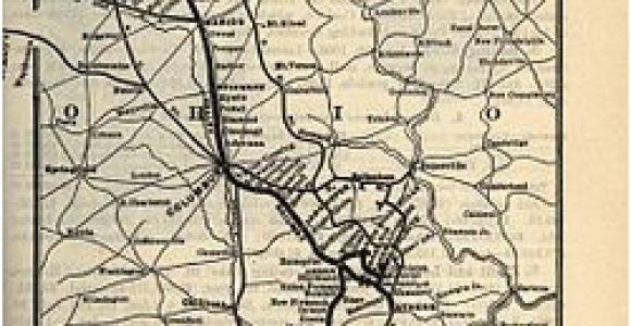 Ohio Central Railroad Map Hocking Valley Railway Wikipedia
