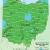 Ohio Climate Map Map Of Usda Hardiness Zones for Ohio
