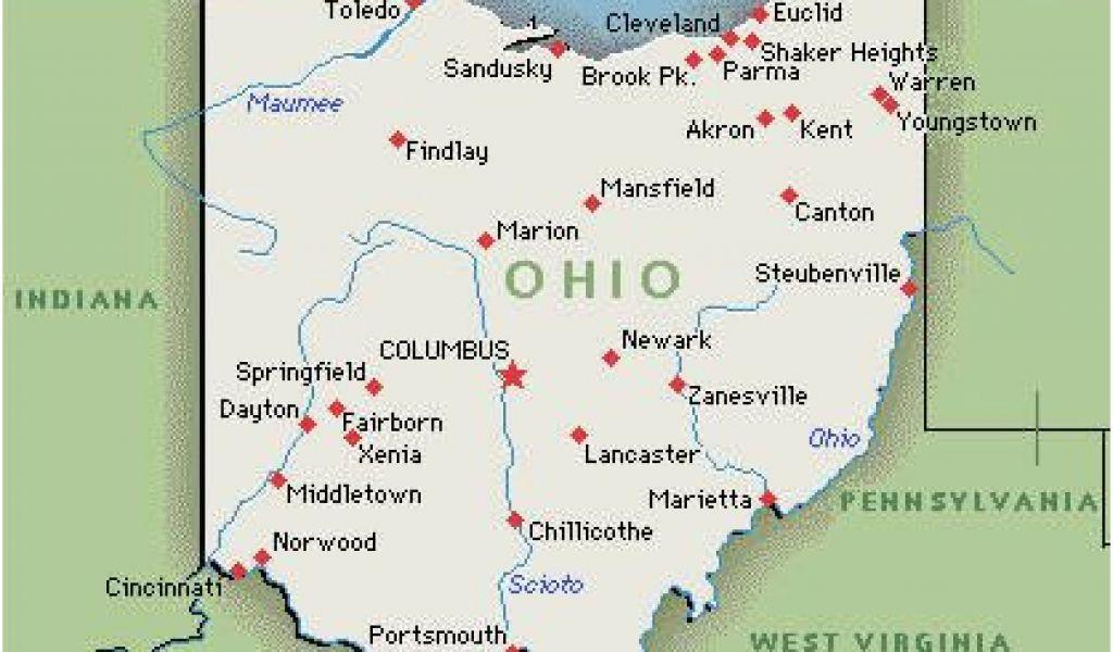 Ohio Colleges And Universities Map Milan Ohio Map Us City Map - Map-of-us-colleges-and-universities