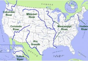 Ohio Map Rivers United States Geography Rivers