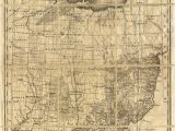 Ohio Mounds Map Map Of Ohio with Indian Reservations Adams County History