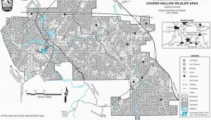 Ohio Public Hunting area Maps Cooper Hollow Wildlife area