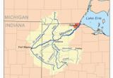 Ohio River Location On Map Auglaize River Wikipedia