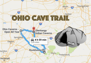 Ohio Road Maps This Map Shows the Shortest Route to 7 Of Ohio S Most Incredible