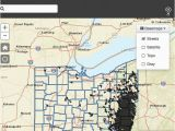 Ohio State Campgrounds Map Oil Gas Well Locator