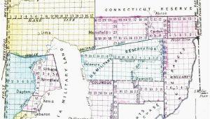 Ohio State Land Map Map Lebanon Ohio Secretmuseum