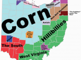 Ohio State Map with Counties 8 Maps Of Ohio that are Just too Perfect and Hilarious Ohio Day