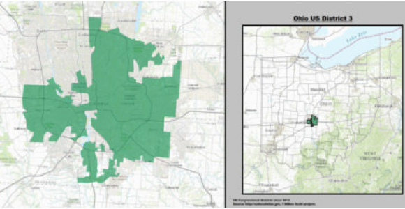 Ohio State Representatives District Map Ohio S 3rd Congressional District Wikipedia