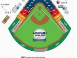 Ohio State Stadium Map Seating Chart for Maryvale Baseball Park and Brewers