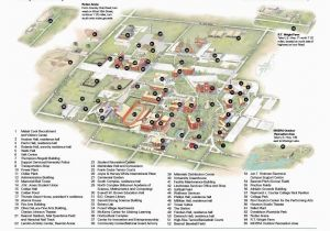 Ohio State University Campus Map Pdf Campus Maps Directions Incoming Students Campus Map Map Student